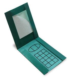 折纸手机和步骤图解