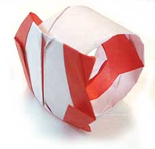 折纸戒指和步骤图解