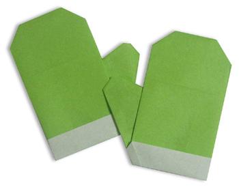 折纸手套和步骤图解