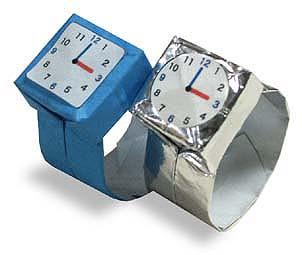 折纸手表和步骤图解