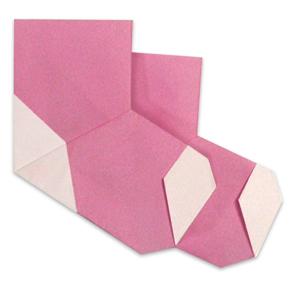 折纸袜子和步骤图解