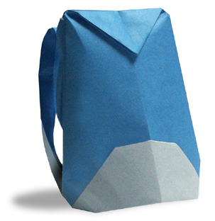 折纸登山背包和步骤图解