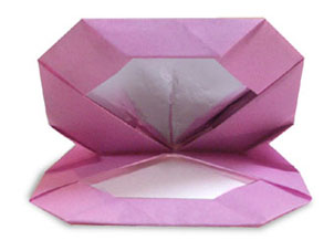 折纸粉底和步骤图解