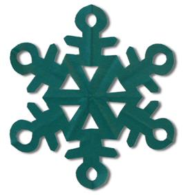 剪纸雪花的方法和步骤图解 03
