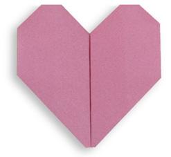 心折纸和步骤图解