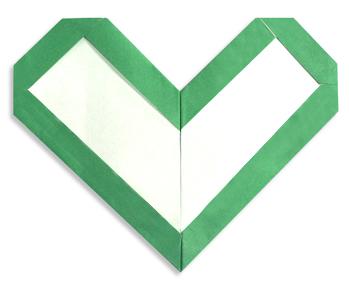 心框的折纸和步骤图解