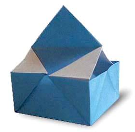 折纸迷你盒子和步骤图解