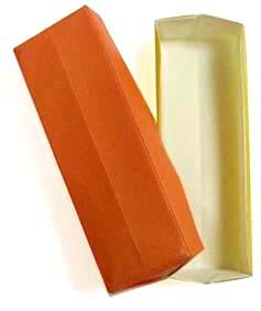 折纸细长盒子和步骤图解