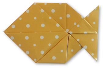 鱼的折纸和步骤图解