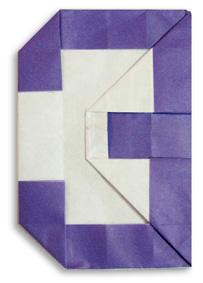 折纸数字3和步骤图解