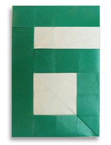折纸数字6和步骤图解