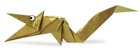 龙的折纸和步骤图解