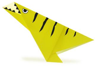 腕龙折纸和步骤图解