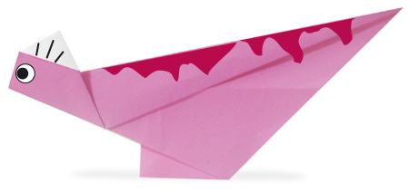 折纸冠龙和步骤图解