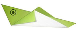 蝗虫折纸的折法和步骤图解