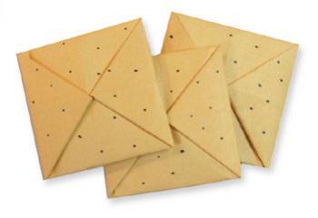 折纸饼干和步骤图解