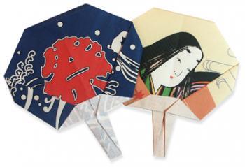 折纸团扇和步骤图解