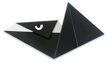无齿翼龙折纸和步骤图解