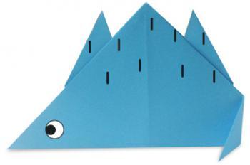 剑龙折纸和步骤图解