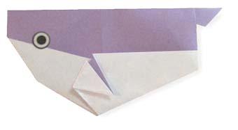 折纸河豚和步骤图解