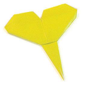 折纸银杏和步骤图解