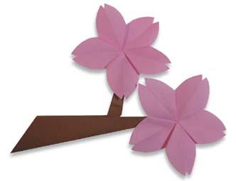 折纸樱花的方法和步骤图解