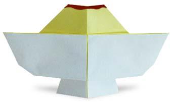 折纸布丁和步骤图解