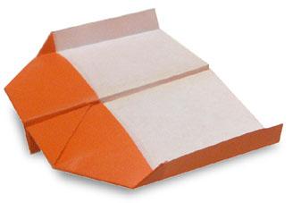 折纸飞机和步骤图解