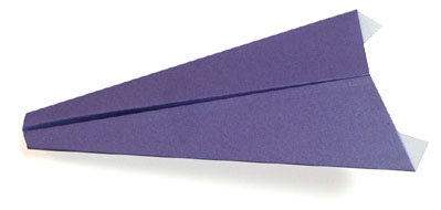 飞机2的折纸和步骤图解