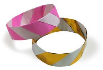 折纸手镯和步骤图解