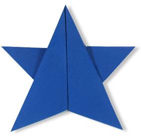 折纸星星的方法和步骤图解