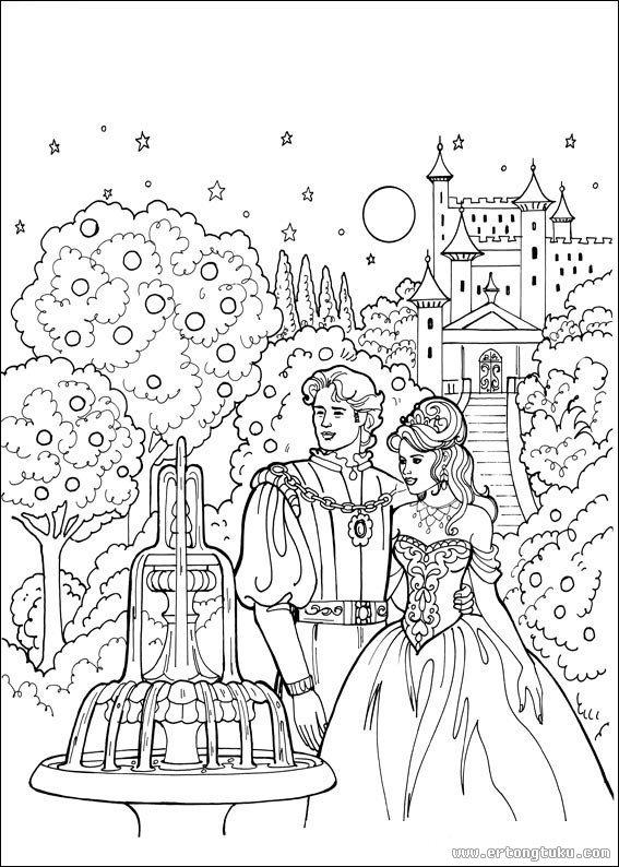 Kleurplaten Disney Prinsessen Kerst Princess Leonora填色画 童话故事填色图片 儿童图库