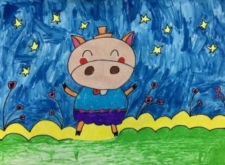 小猪摘星星