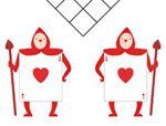 俄罗斯智力巧板拼图:红心