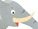 俄罗斯智力巧板拼图:小象