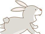 异形积木拼板:兔子