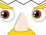 异形积木拼板:脸谱02